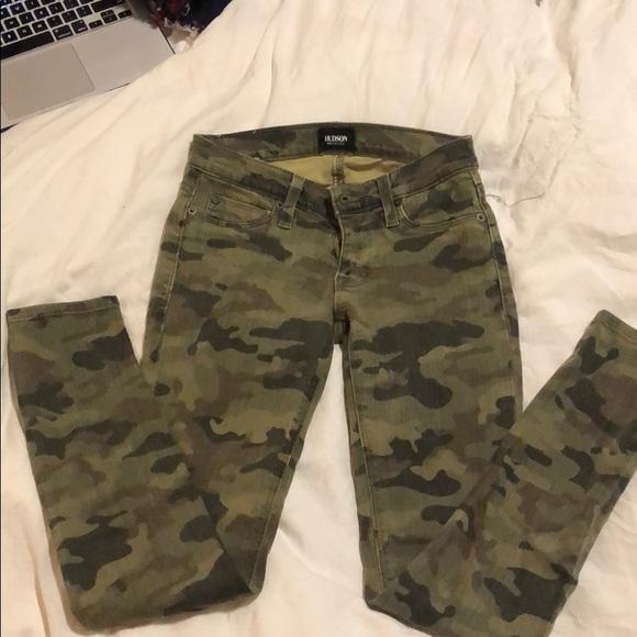 Hudson Jeans Denim - Hudson Camo Skinny Jeans